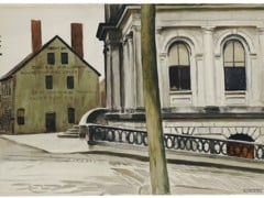 Custom House Portland by Edward Hopper