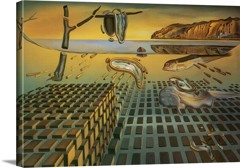 The Disintegration Of The Persistence Of Memory by Dali