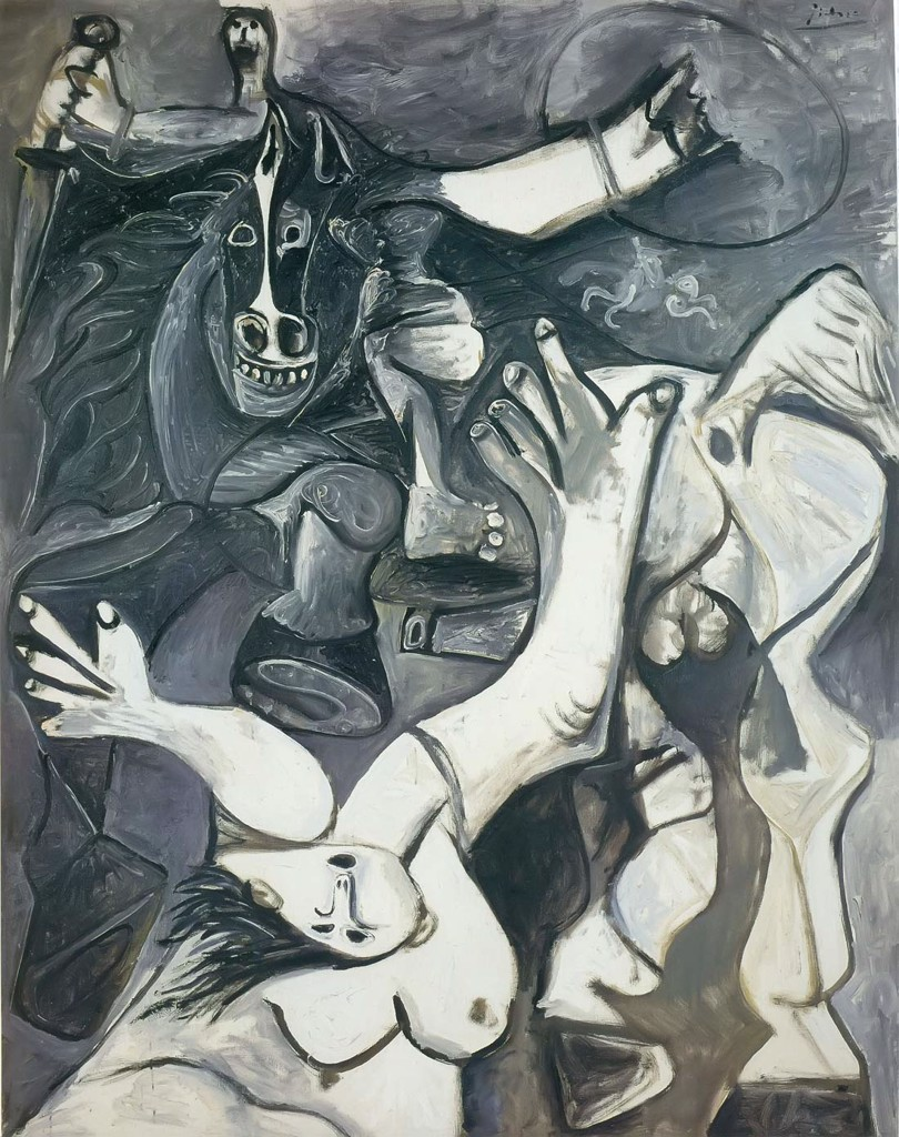 Rape Of The Sabine Women 1962 Pablo Picasso