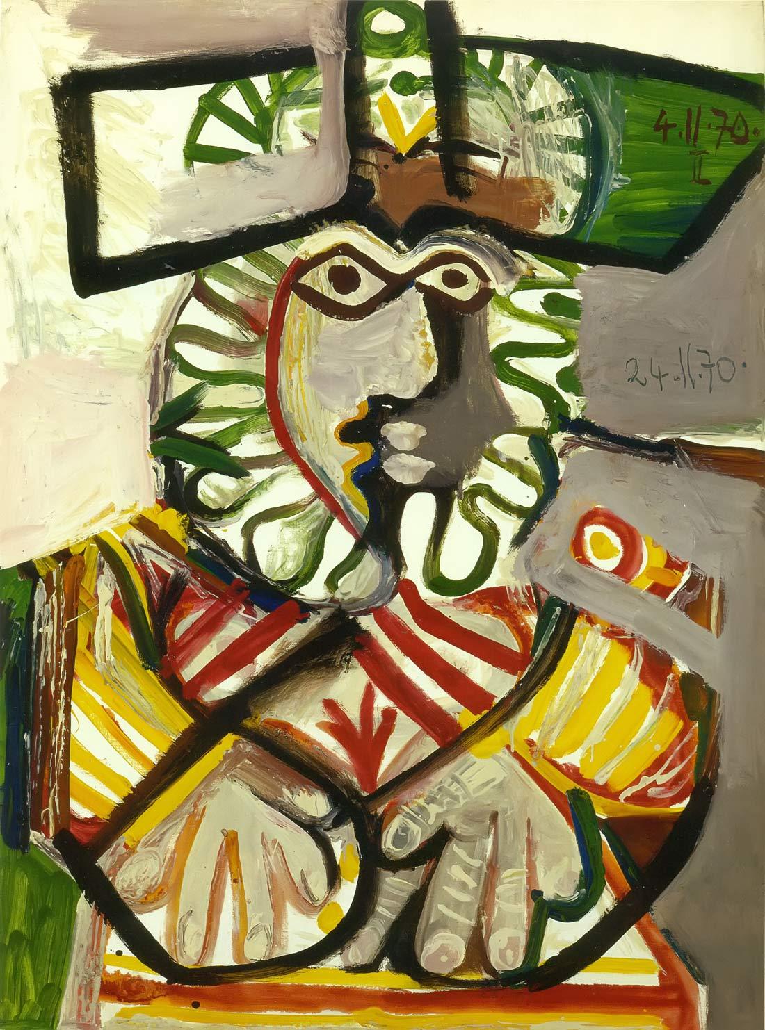 Head 1970 Pablo Picasso