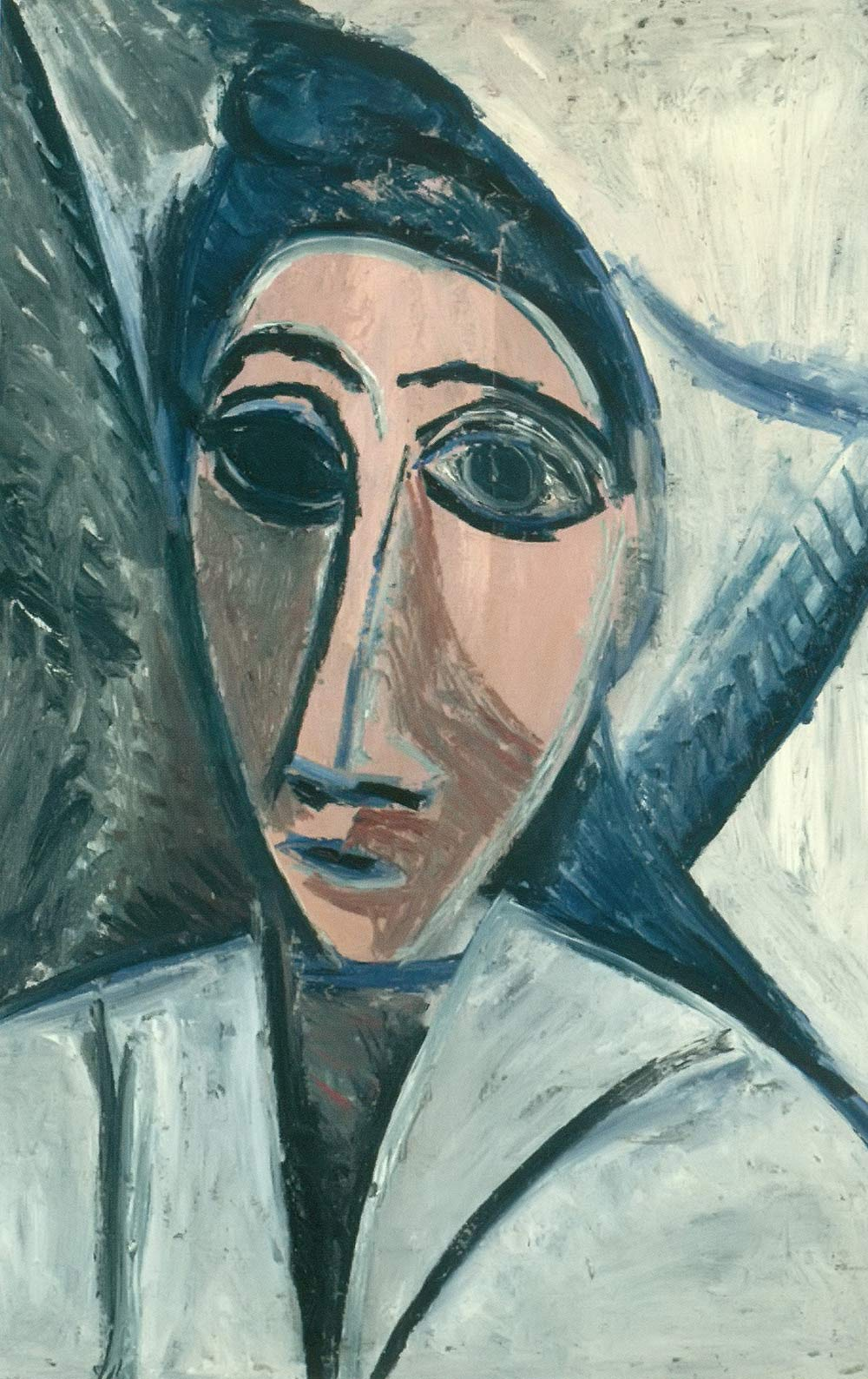 Bust Of A Woman Or A Sailor Pablo Picasso