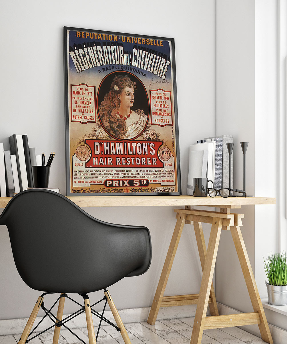 33wpafrench Vintage Advertisement Poster