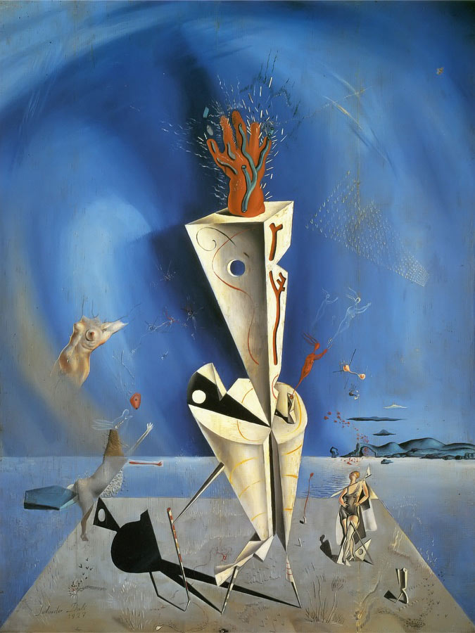 Apparatus And Hand by Dali