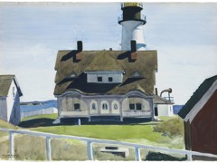 Captain Strout's House Portland Head by Edward Hopper