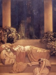 Sleeping Beauty by Maxfield Parrish