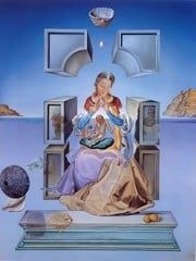 The Madonna Of Port Ligat by Dali