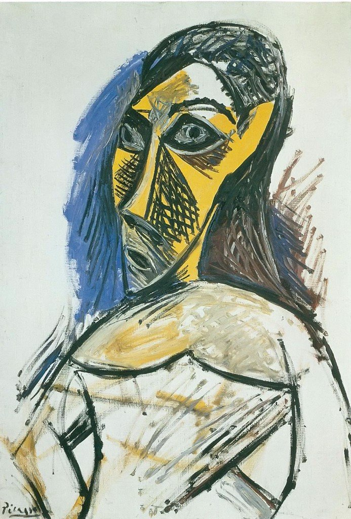 Bust Of A Nude Woman Pablo Picasso