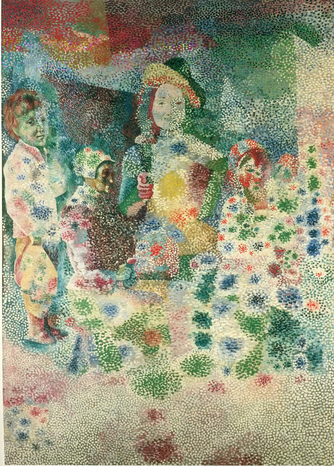 Return From The Baptism After Le Nain Pablo Picasso