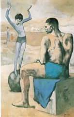 Acrobat On A Ball Pablo Picasso
