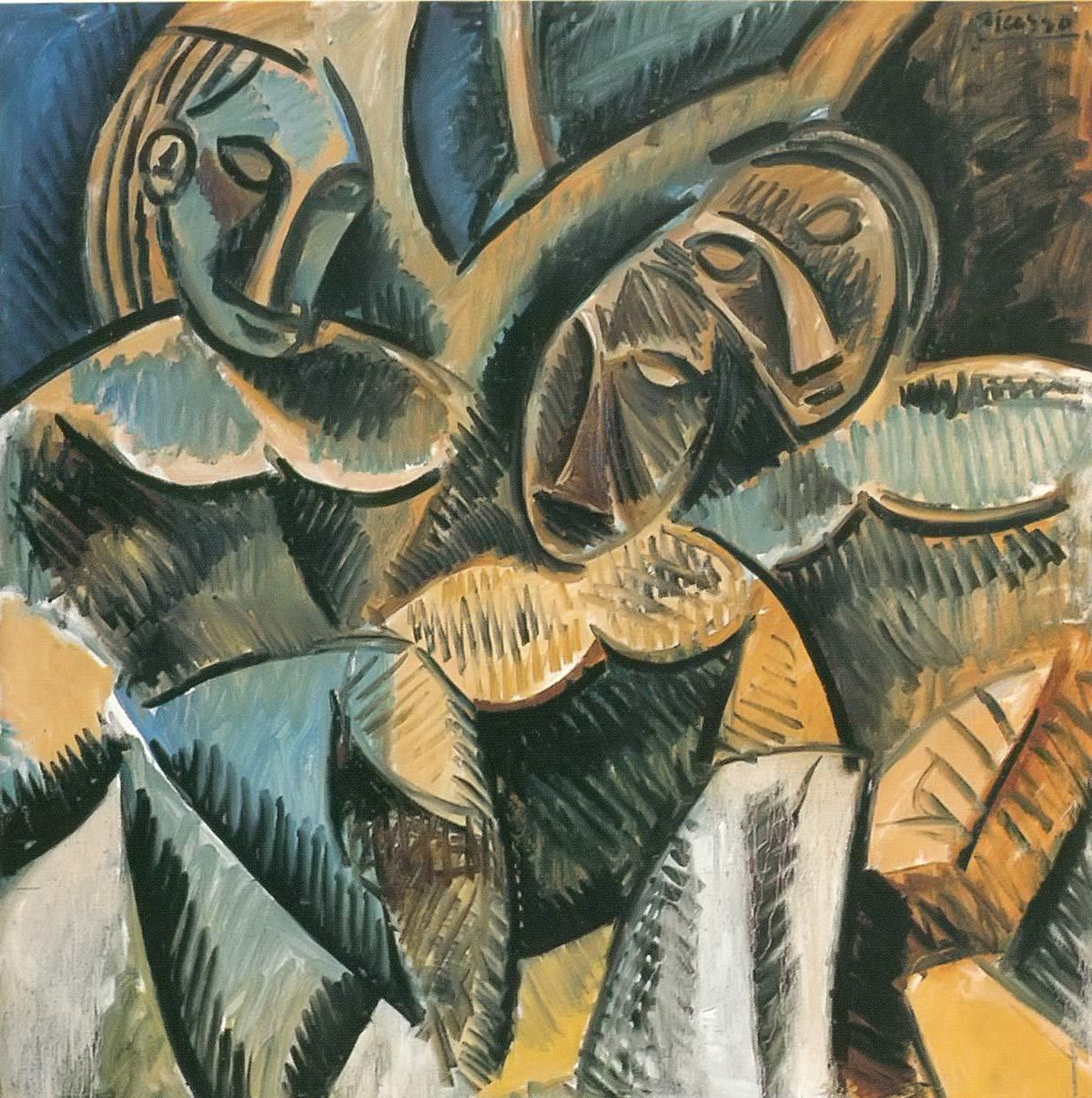 Three Women Under A Tree Pablo Picasso