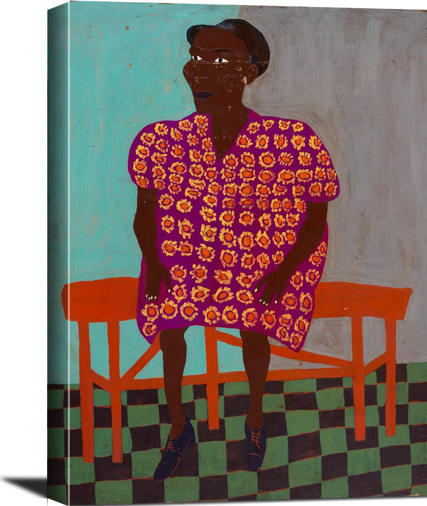 Portrait William H Johnson