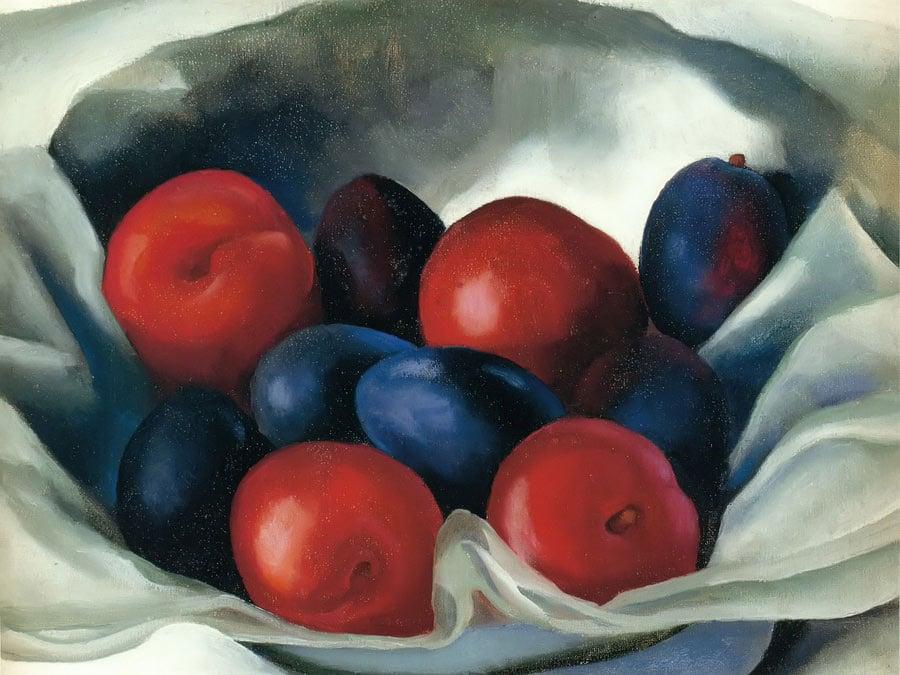 Plums by Georgia O Keeffe