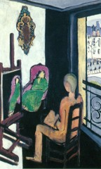 In The Painter In His Studio by Henri Matisse