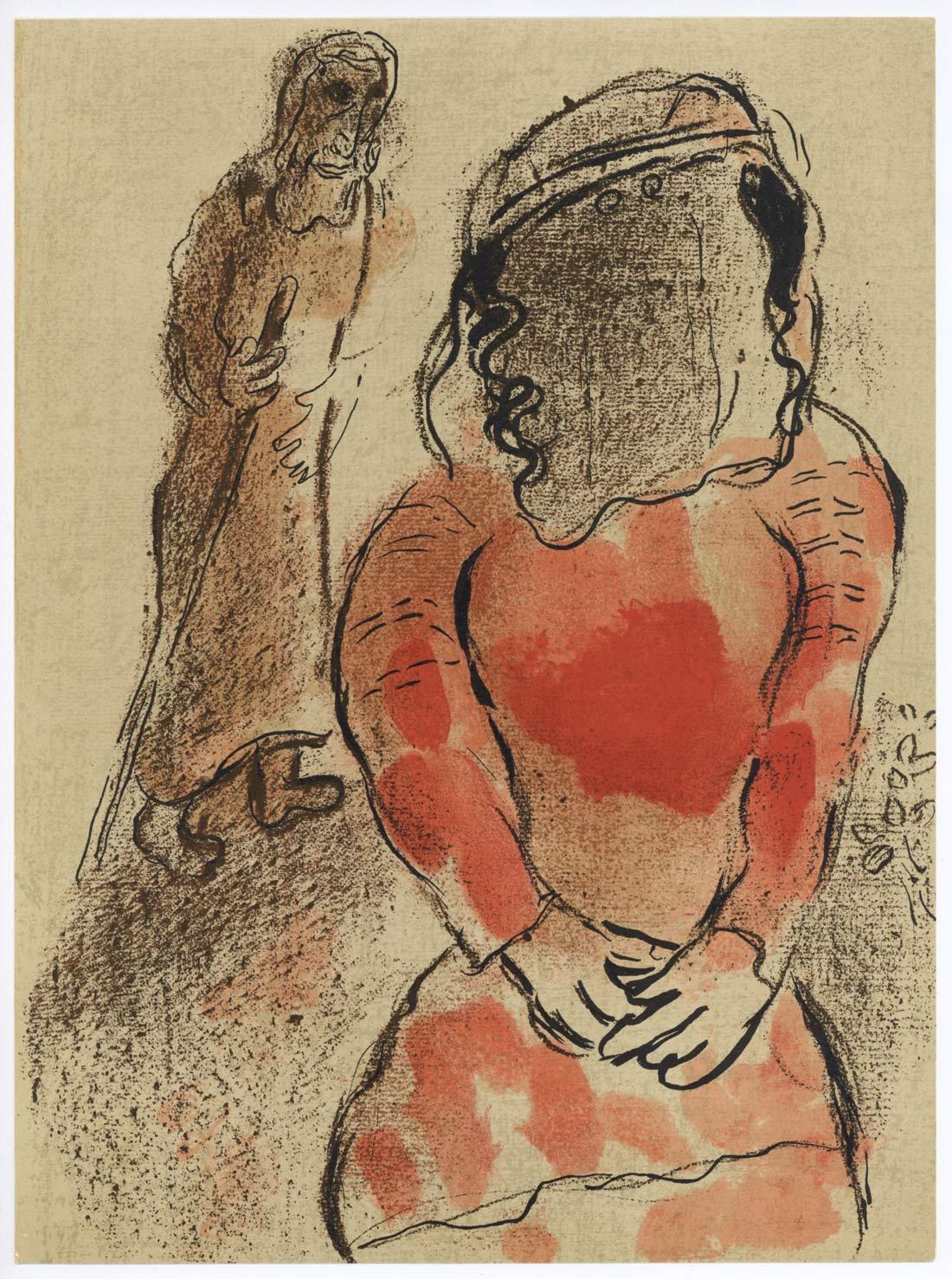 Tamar, Daughter In Law Of Judah Marc Chagall