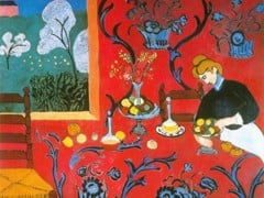 Harmony In Red La Desserte by Henri Matisse