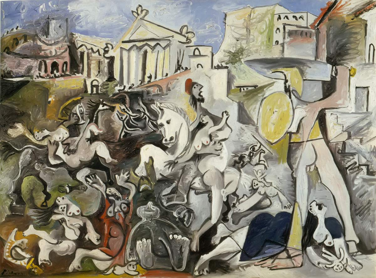 The Rape Of The Sabine Women 1962 Pablo Picasso
