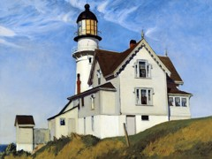 Captain Upton's House by Edward Hopper