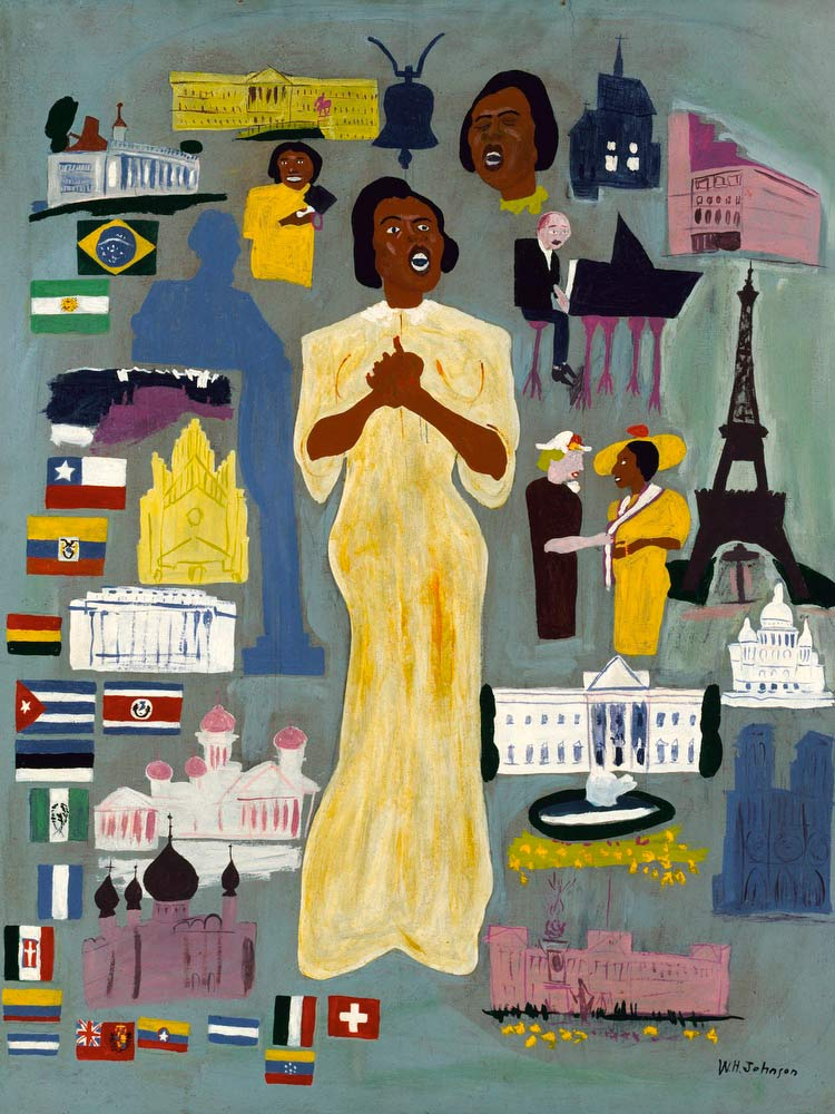 Marian Anderson William H Johnson