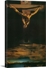 The Christ Of Saint John Of The Cross by Dali