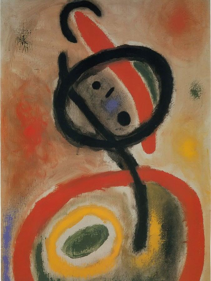Femme Iii 2 6 1965 by Joan Miro