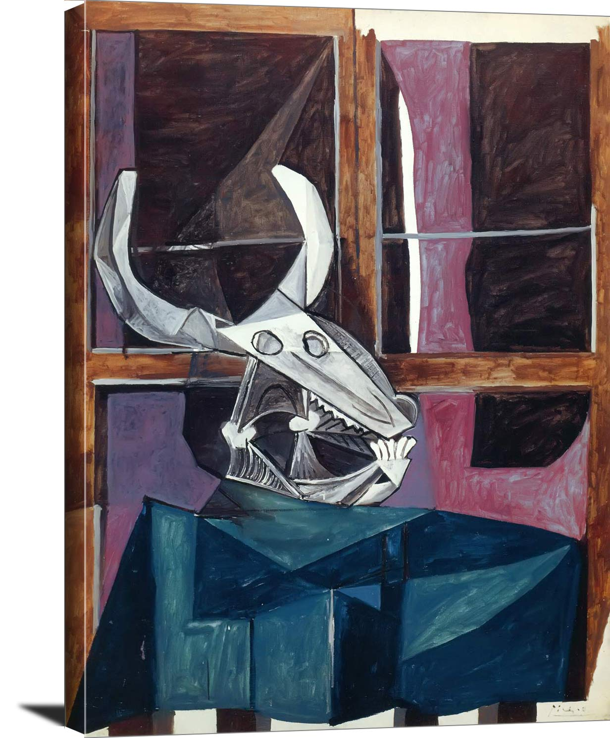 Still Life With Skull Of A Steer Pablo Picasso