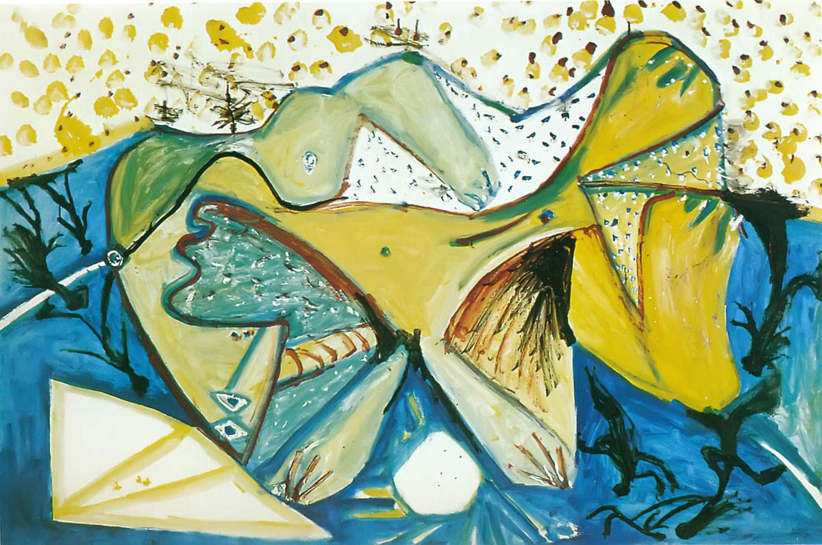 Reclining Nude 1971 Pablo Picasso