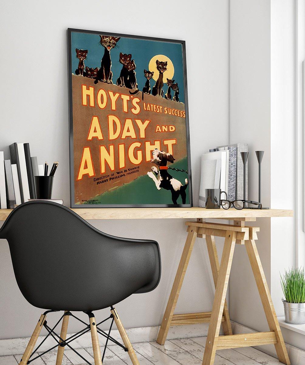 Wpaanimala Vintage Advertisement Poster