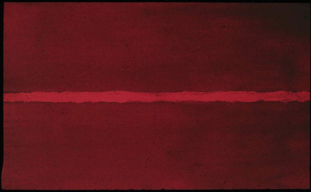 Onement I by Barnett Newman
