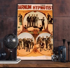 BARNUM THE HYPNOTIST - Vintage Advertisement Poster