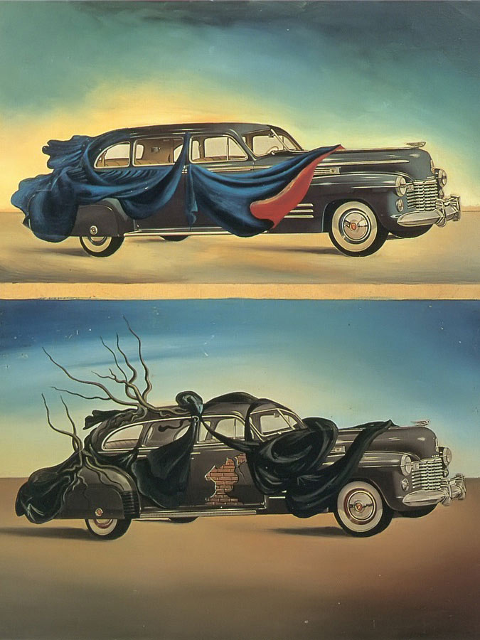 Car Clothing by Dali
