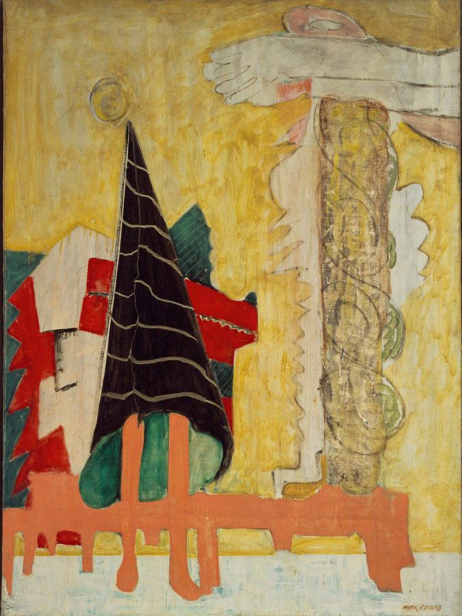 Sacrifice Of Iphigenia by Mark Rothko