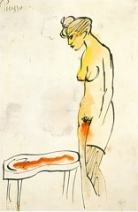 Woman At The Bidet Pablo Picasso