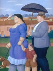 A Family by Botero