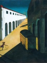 Mystery And Melancholy Of A Street by Giorgio De Chirico