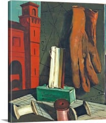 The Amusements Of A Young Girl by Giorgio De Chirico