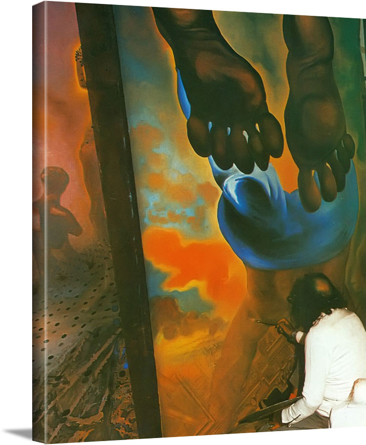 Figures by Dali