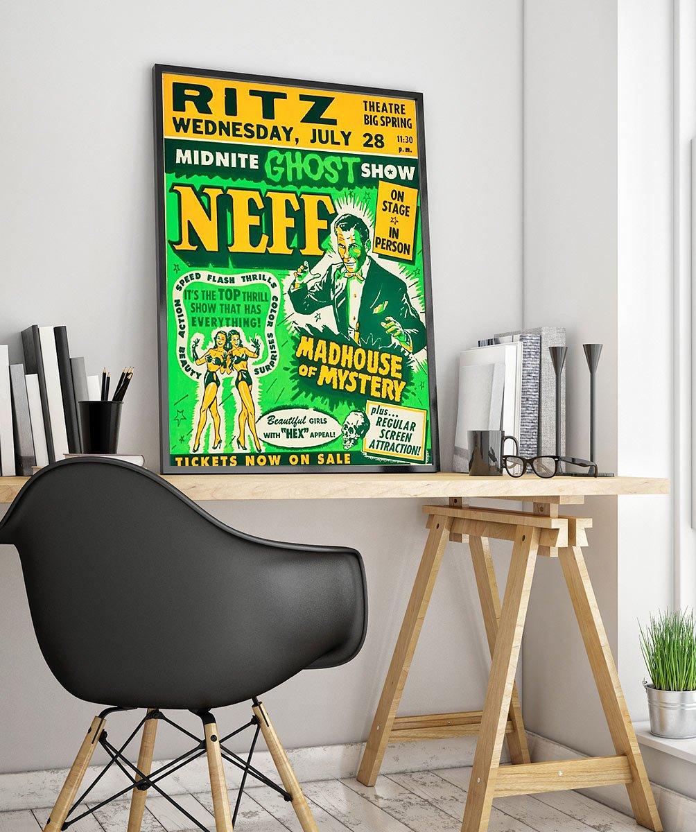 23wpamoviesa Vintage Advertisement Poster