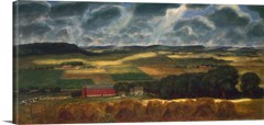 Wisconsin Landscape by John Steuart Curry