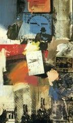 Untitled 1963 by Robert Rauschenberg