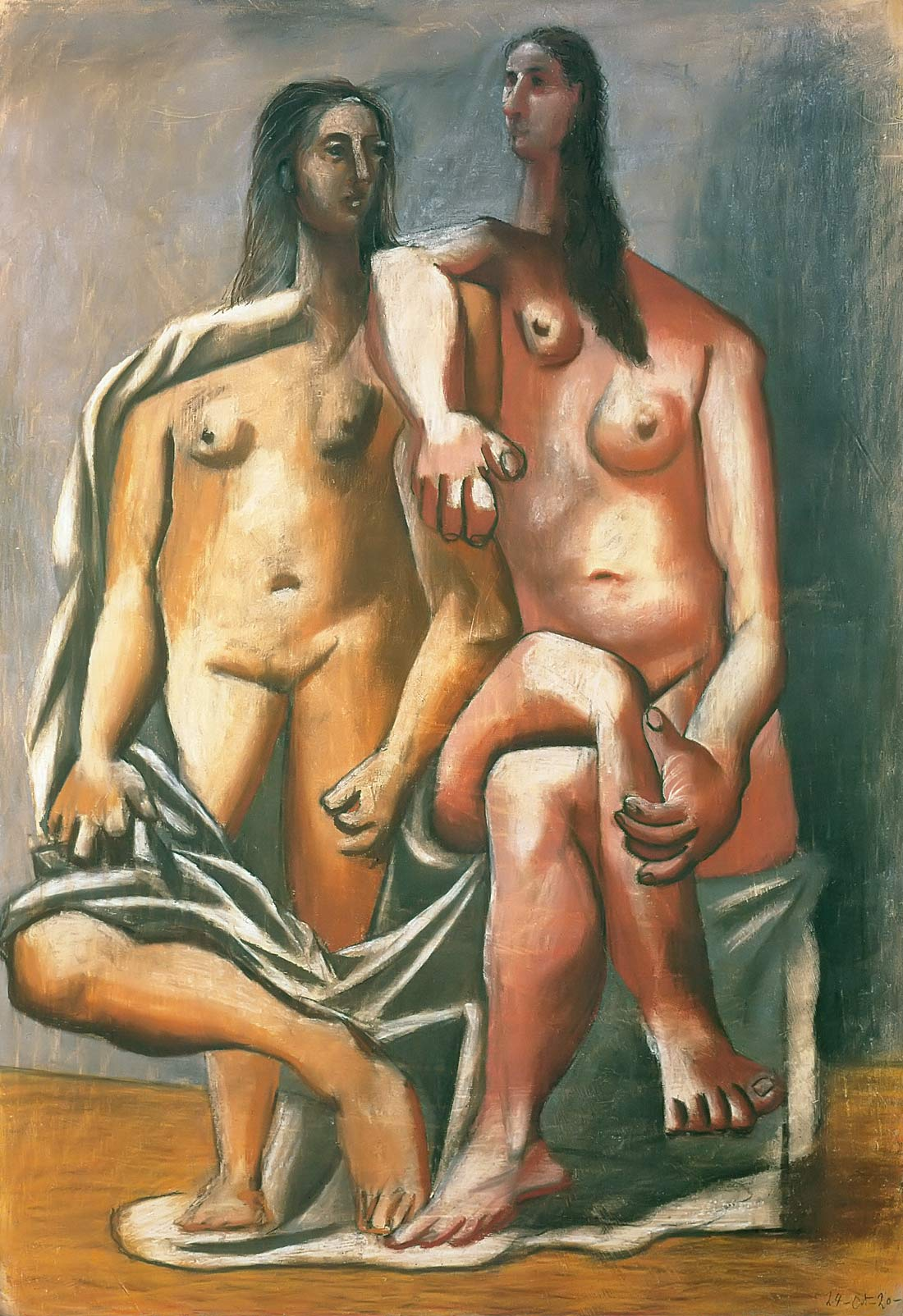 Two Bathers 1920 Pablo Picasso