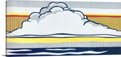 Cloud And Sea by Roy Lichtenstein