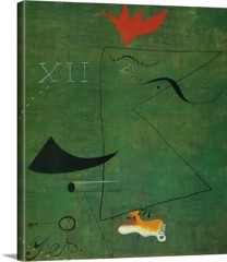 The Gentleman 1924 by Joan Miro