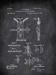 Apparatus For Eleotric Welding E Thomson 1886 Technology by Patent