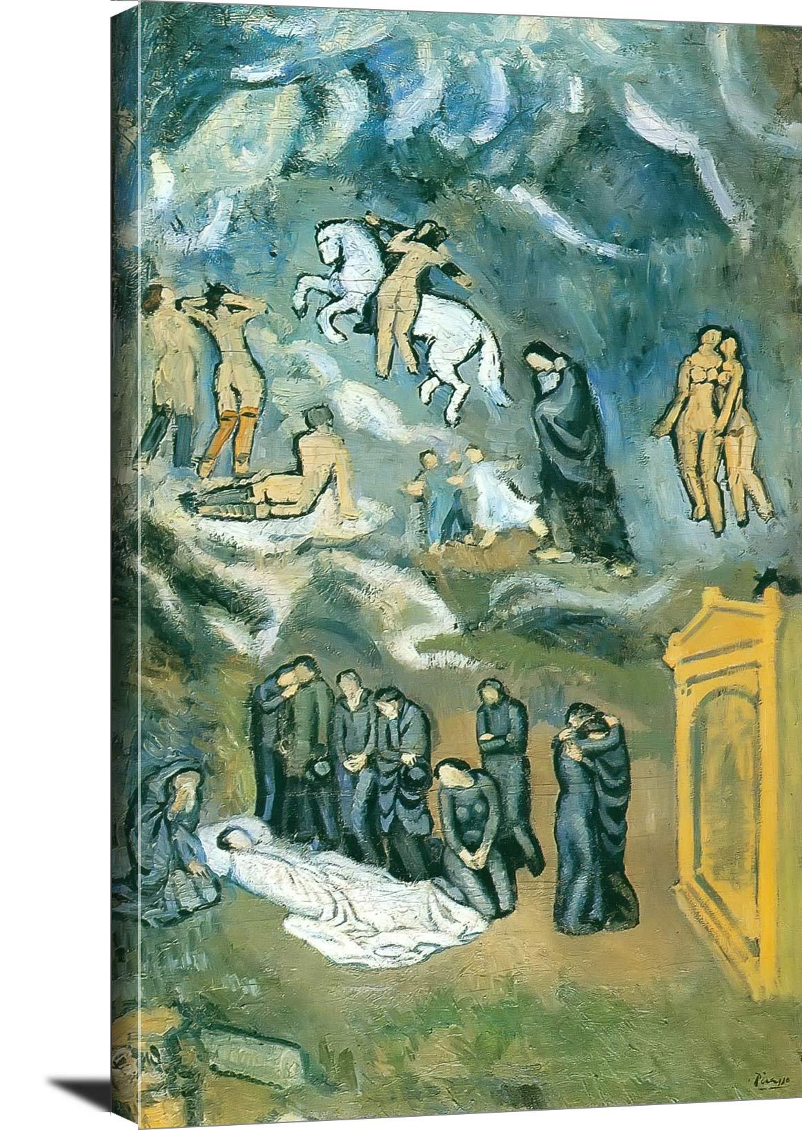 The Burial Of Casagemas Pablo Picasso