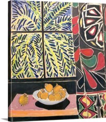 The Egyptian Curtain by Henri Matisse