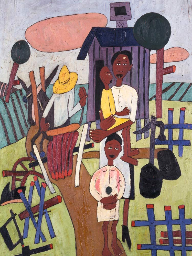 Folk Family William H Johnson