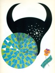 The Zodiac   Taurus by Erte