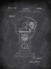 Astronomical Clock M N Bulka 1930 Technology by Patent