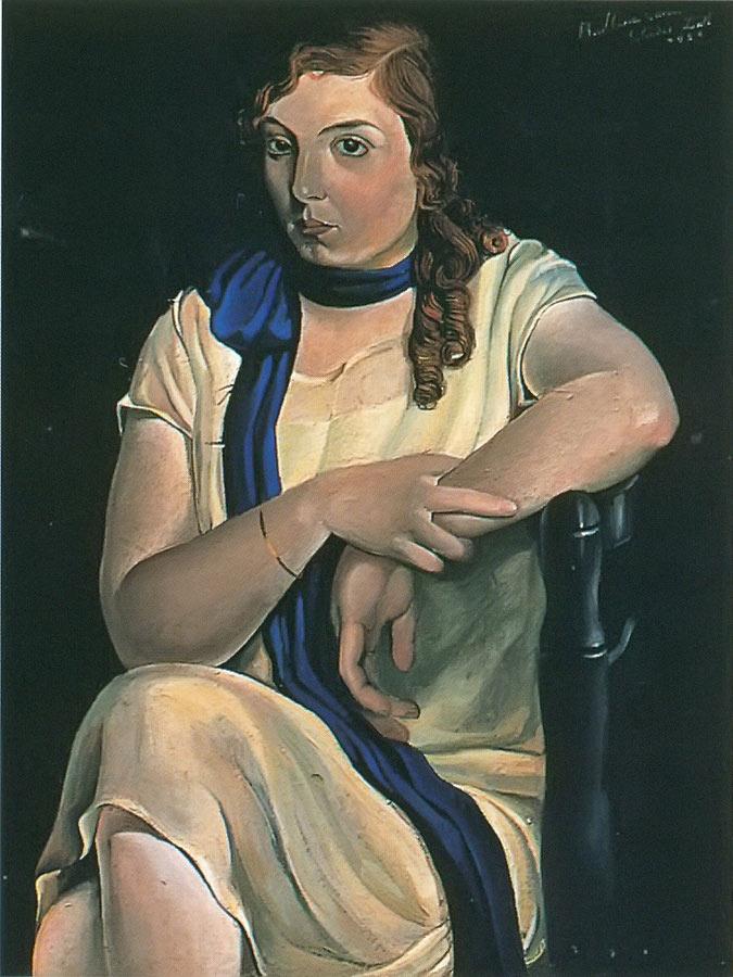 Portrait Of Maria Carbona by Dali