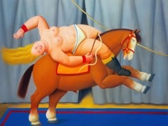 Circus Act by Botero